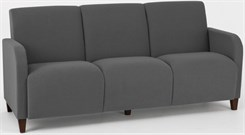 Siena 3 Seat Sofa in Upgrade Fabric or Healthcare Vinyl