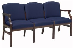 3-Seat Sofa in Standard Fabric or Vinyl