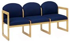 3-Seat Sofa in Standard Fabric or Vinyl