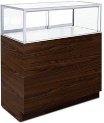 3' Width Full-View Counter Merchandise Display Case - Other Sizes Available