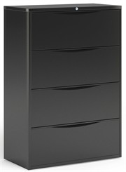 "36""W 4-Drawer Lateral File"