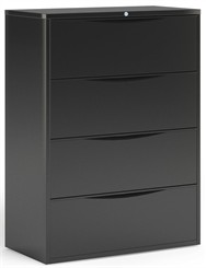 "42""W 4-Drawer Lateral File"