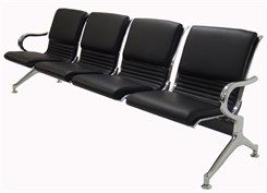 4-Seater Upholstered Beam Seating