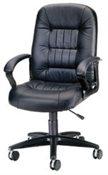 400 Pound Capacity Leather Chair