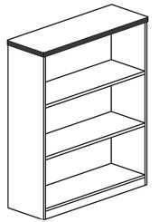 """42""""H Bookcase"""