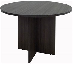 "Charcoal 42"" Round Conference Table"