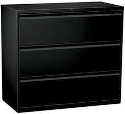 "42""W 3-Drawer Lateral File (with lock)"