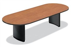 10' Custom Oval Racetrack Conference Table w/Bullnose Edge