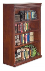 "48"" High Cherry Bookcase"
