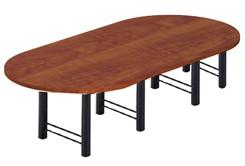 12' Custom High-Tech Racetrack Table w/4 Bases