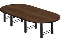 14' Custom High-Tech Racetrack Table w/4 Bases