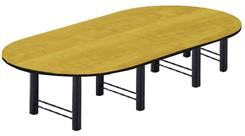 16' Custom High-Tech Racetrack Table w/4 Bases
