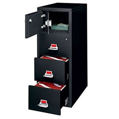 4-Drawer Legal FireKing Fireproof Safe-In-A-File