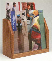 4 Pocket Brochure Rack