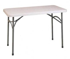 4' Resin Folding Table