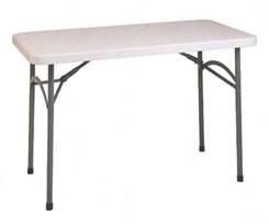 4' Resin Folding Table
