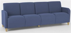 Siena 4 Seat Sofa in Standard Fabric or Vinyl