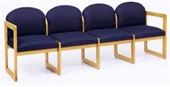 4-Seat Sofa in Standard Fabric or Vinyl