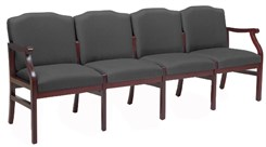 4-Seat Sofa in Upgrade Fabric or Healthcare Vinyl