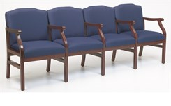4-Seats w/Armrests in Standard Fabric or Vinyl