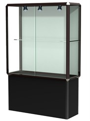 4' Wide Prominence Display Case with Interior Lighting