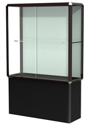 4' Wide Prominence Pedestal Display Case