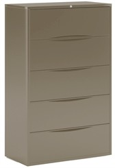 "42""W 5-Drawer Lateral File"