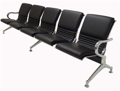 5-Seater Upholstered Beam Seating