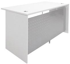 "White 55""W Desk"