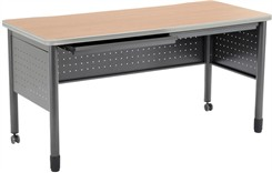 "55"" Wide Steel Table / Desk"