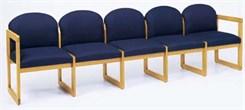 5-Seat Sofa in Standard Fabric or Vinyl