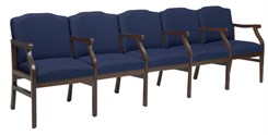 5-Seats w/Armrests in Standard Fabric or Vinyl