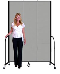 "8' high x 5'9"" long Portable Partition"
