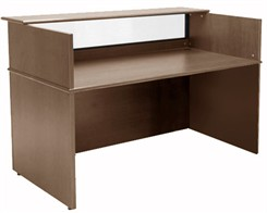6' Wide Custom Linear Reception Desk