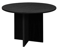 "60"" Diameter X-Base Conference Table"