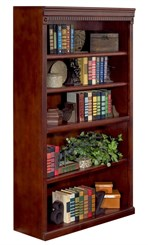 "60"" High Cherry Bookcase"