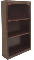 "60""H Traditional Oak Bookcase"