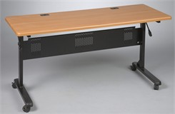 "60""W x 24""D Flip-Top Training Table"