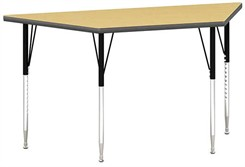 "60""W x 30""D Trapezoid Table"