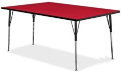 "60""W x 36""D Rectangular Table"