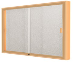 "60""W x 36""H Sliding Door Wall Display"