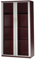 "68"" Wall Cabinet w/Glass Doors"