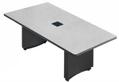 6' Custom Rectangular Conference Tables w/ Power Module