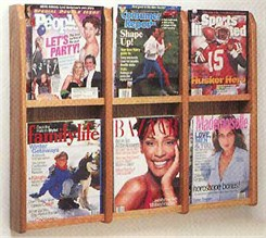 6 Magazine Pocket Rack