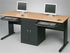 "72""W Computer Lab Training Table"