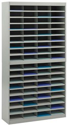 72 Compartment Letter Size Sorter