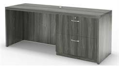 "72"" Credenza Shell & Lateral File"