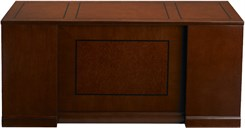 "72""W Double Pedestal Desk with Straight Front - PBF/FF"