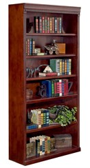 "72"" High Cherry Bookcase"