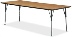 "72""W x 30"" Rectangular Table"
